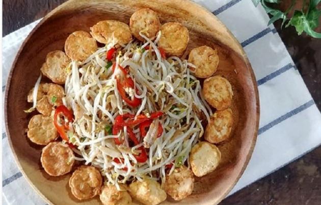Sedapnya Tumis Taoge Tofu Untuk Makan Siang