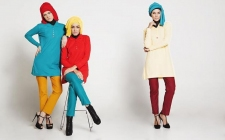 Mix and Match Polo Shirt untuk Hijabers