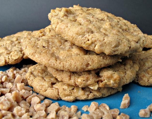 Crunch Oatmeal Cookies Untuk Lebaran