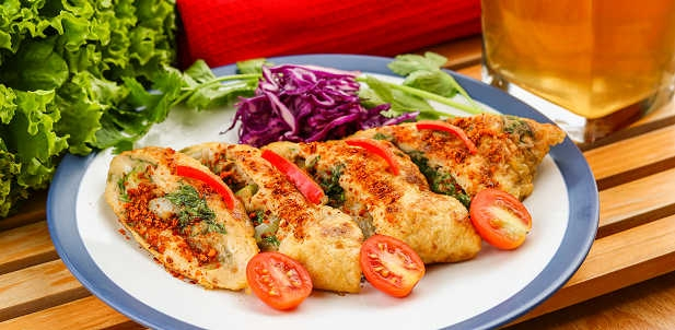 Omelet Sayur Lauk Lezat Untuk Berbuka