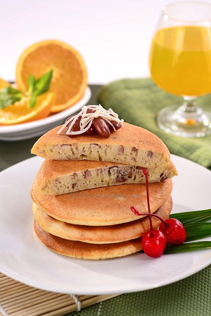 Sarapan Bergizi Ala Busui: Pancake Kacang Merah Keju