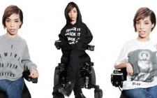 Penyandang Disabilitas Jadi Model Iklan Busana Beyonce