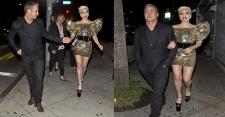 Pesta Ulang Tahun, Lady Gaga Tampil Seksi