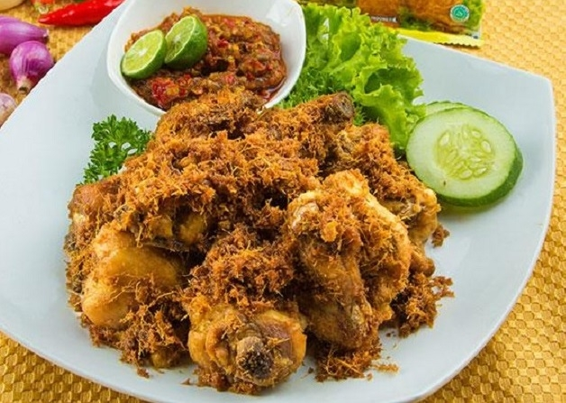 Resep Makan Siang Ayam Goreng Bumbu Spesial, Gurihnya Bikin Nagih!