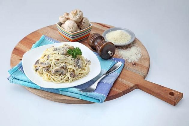 Yuk Bikin Creamy Beef Spaghetti