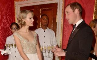 Taylor Swift Senang dengan Lelucon Pangeran William