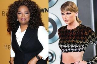 Taylor Swift Buat Oprah Menangis