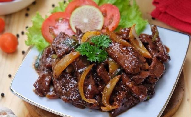 Biar Semangat Buka Puasa, Nih Tumis Daging Bombay