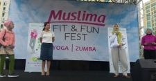 Unjuk Gigi Para Muslimah Sehat dan Cantik di Muslima Fit & Fun Festival