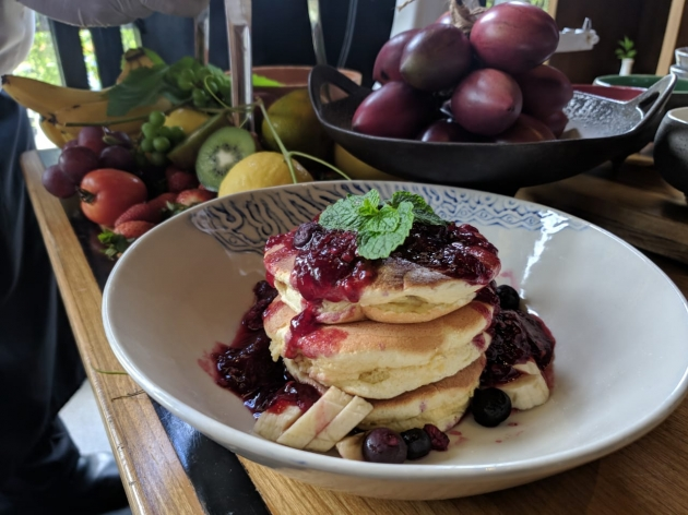 Resep Fluffy Pancake with Tamarillo Jam dari V Cooking Class from Home