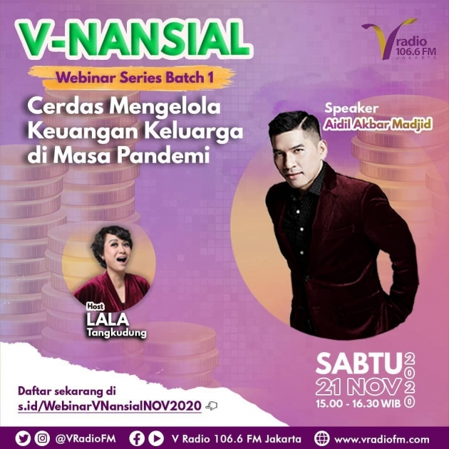 PRESS RELEASE: V-NANSIAL Webinar Series di V Radio