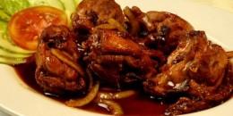 Ayam Goreng Mentega untuk Makan Malam