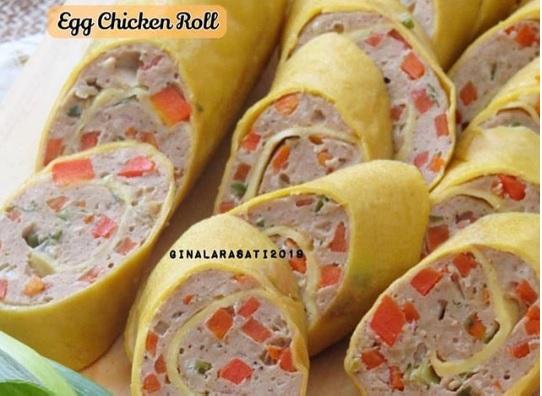 Yuk Bikin Egg Chicken Roll Ala Restoran Jepang