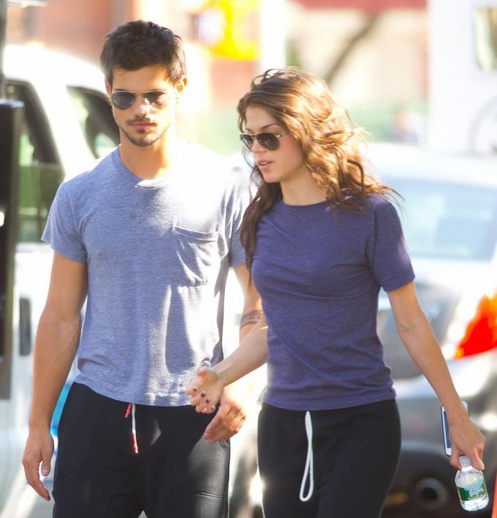 Pacaran dengan Marie Avgeropoulos, Taylor Lautner Lebih Hati-hati