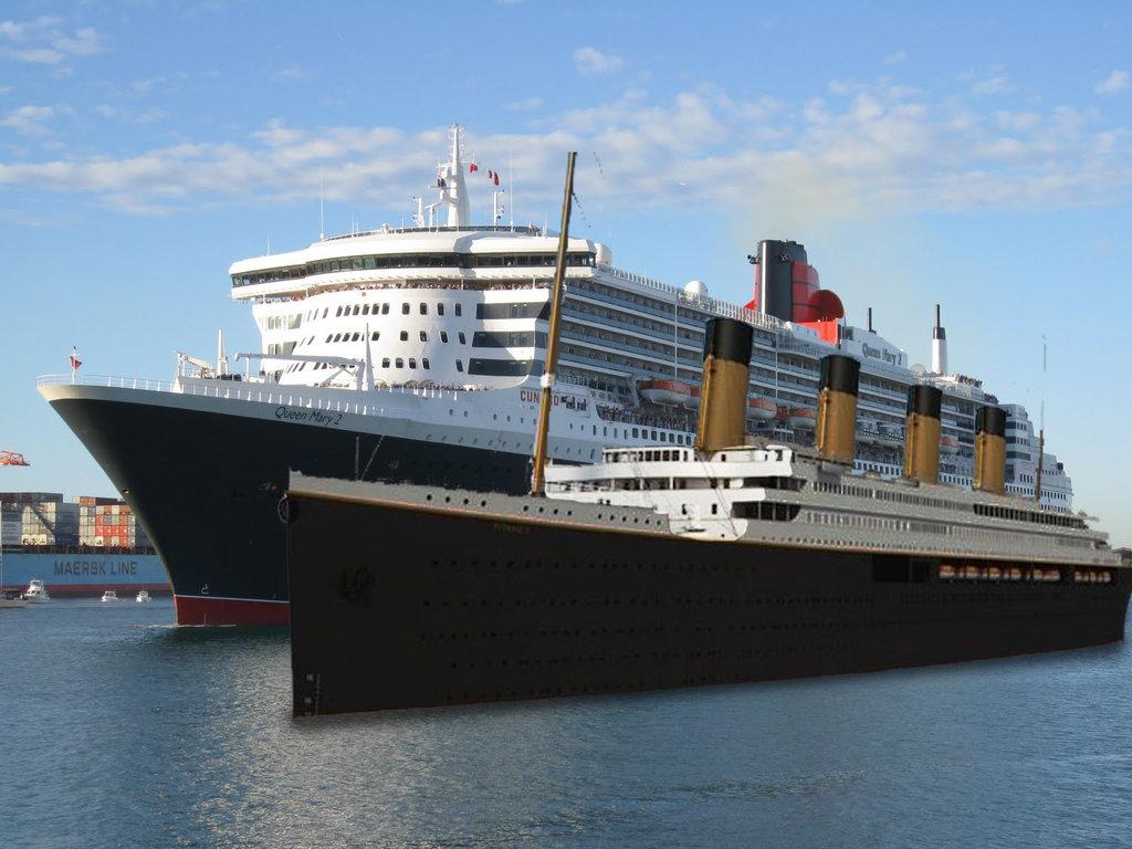 Replika Kapal Titanic Dilengkapi Teknologi Canggih Abad 21, Siap Berlayar