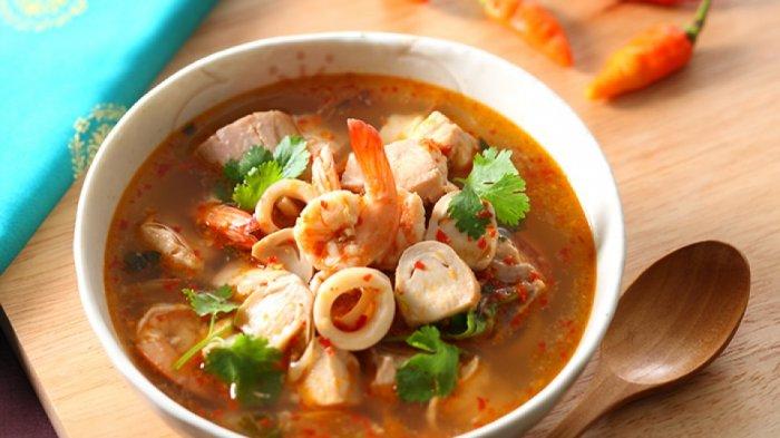 Resep Tom Yum Seafood, Cocok Untuk Musim Hujan