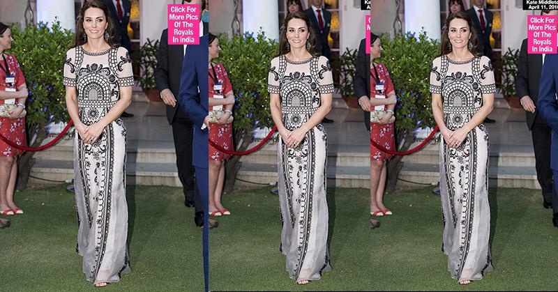 Ultah Ratu Elizabeth, Kate Middleton Pakai Gaun Mewah
