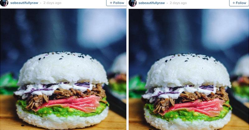 Vegan Sushi Burger Ini Hebohkan Sosial Media