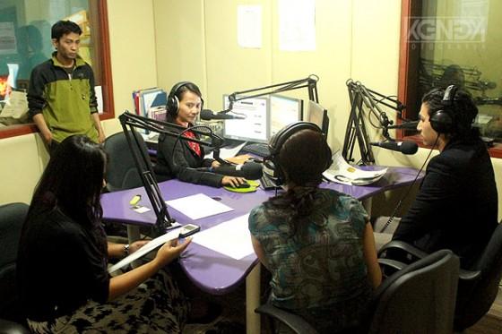 Suasana saat interview Iskandar Widjaja
