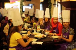 Weekend cooking class with VRadio