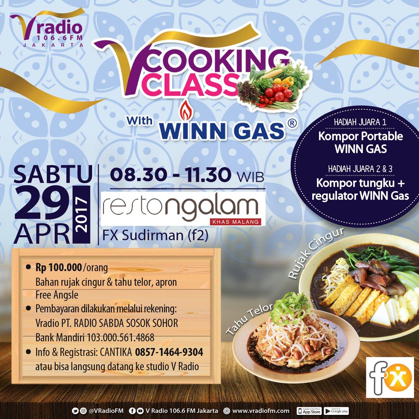 V Radio 106 6 Fm V Cooking Class